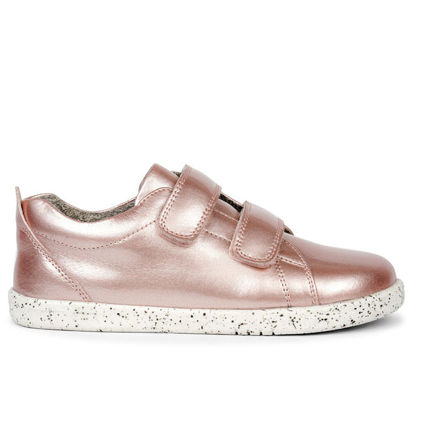 Bobux Grass Court Trainer Rose Gold Waterproof