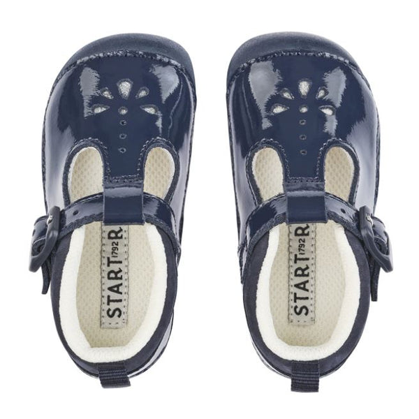 Start-Rite Baby Bubble Navy Patent