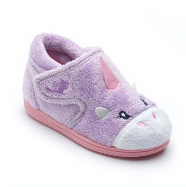 Chipmunk Lavender Unicorn Slipper