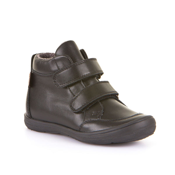 Froddo Black Leather Velcro Boot