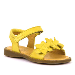 Froddo Floral Yellow Sandals