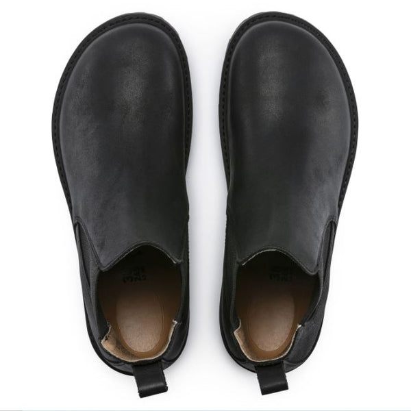 Birkenstock Stalon Black Leather Chelsea Boot