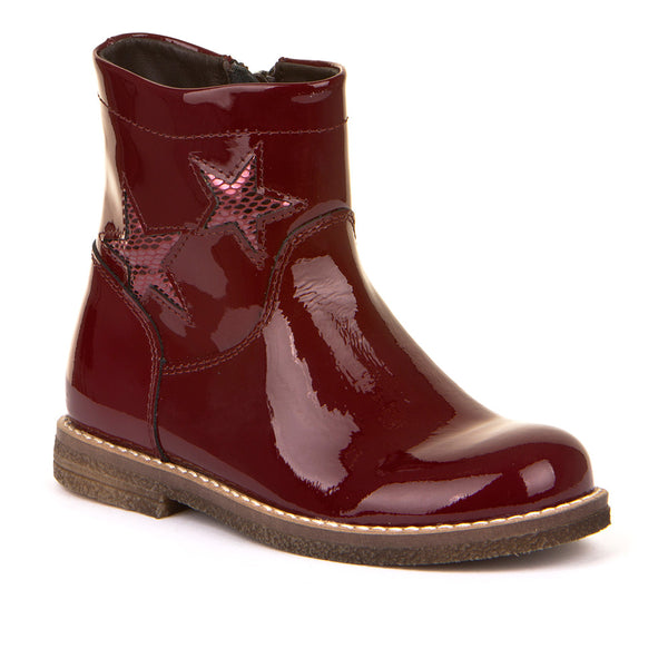 Froddo G3160123-2 Bordeaux Patent Star Boot