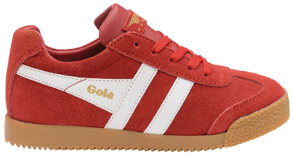 Gola Harrier Deep Red/White Lace
