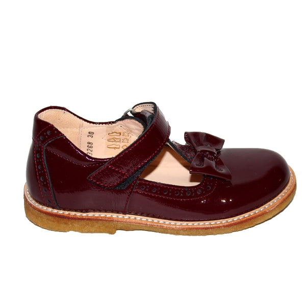 ANGULUS 3268-101-2348 BURGUNDY SHOE