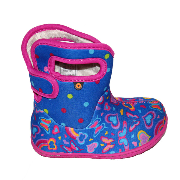 Bogs Baby Bogs Blue Rainbow Multi