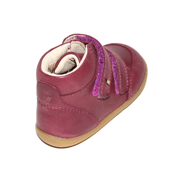 Bobux Step Up Timber Boot Plum