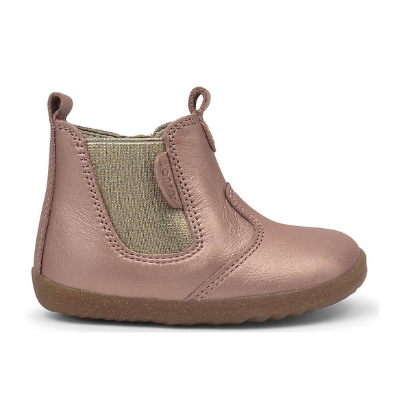 Bobux Jodhpur Rose Gold Step Up