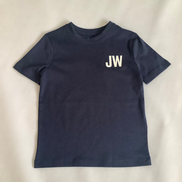 Jack Wills Navy JW logo T Shirt
