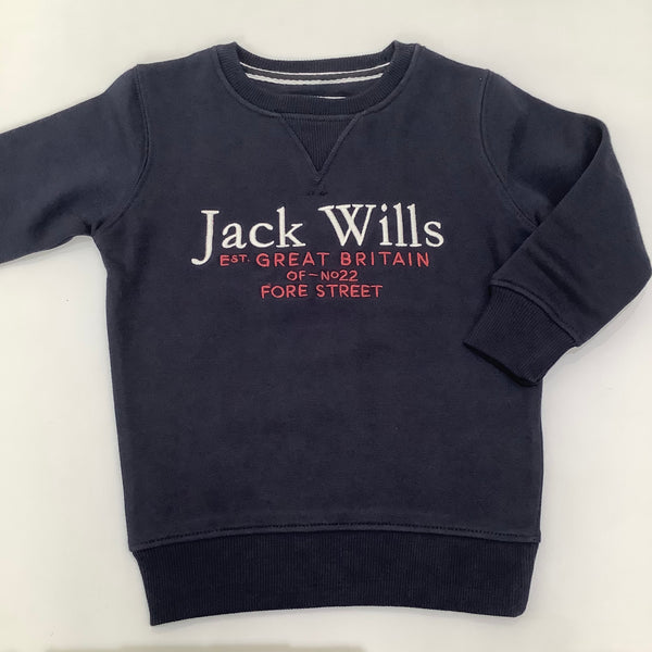 Jack Wills Sweatshirt Navy