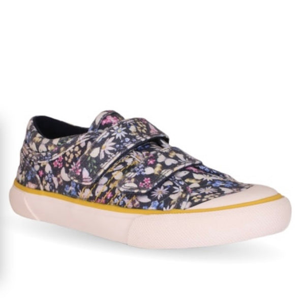 Start Rite Meadow Navy Floral Canvas