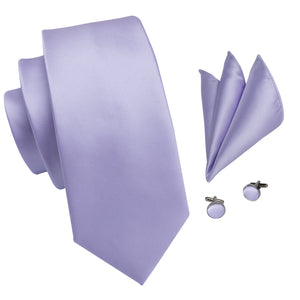 Men's Ties & Handkerchiefs Lilac Men's Necktie - Suit Monkey UK