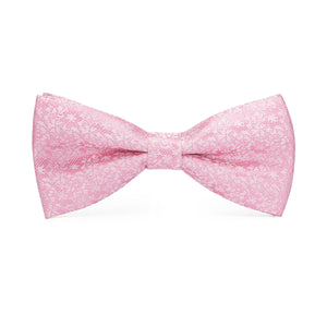 Men's Ties & Handkerchiefs Pink Floral Men's Bow Tie Set - Suit Monkey UK