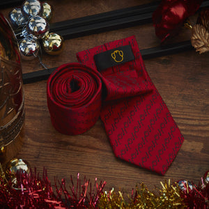 Men's Ties & Handkerchiefs Red HoHoHo Men's Necktie Set - Suit Monkey UK