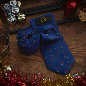 Men's Ties & Handkerchiefs Christmas Wreath Men's Necktie Set - Suit Monkey UK
