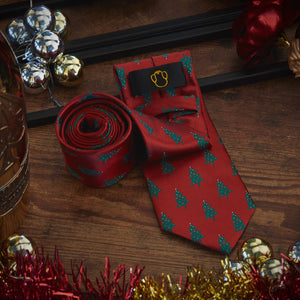 Men's Ties & Handkerchiefs Christmas Men's Necktie Set - Suit Monkey UK