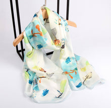 Load image into Gallery viewer, Abstract Ocean Ladies' Scarf Fashion Accessories Suit Monkey UK