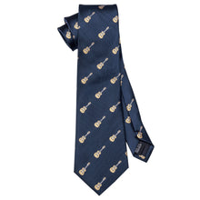 Load image into Gallery viewer, Men's Ties & Handkerchiefs Guitar Men's Necktie Set - Suit Monkey UK