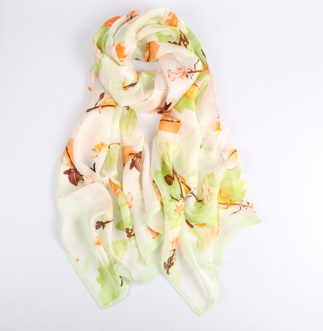 Autumn Leaves Ladies' Scarf Fashion Accessories Suit Monkey UK