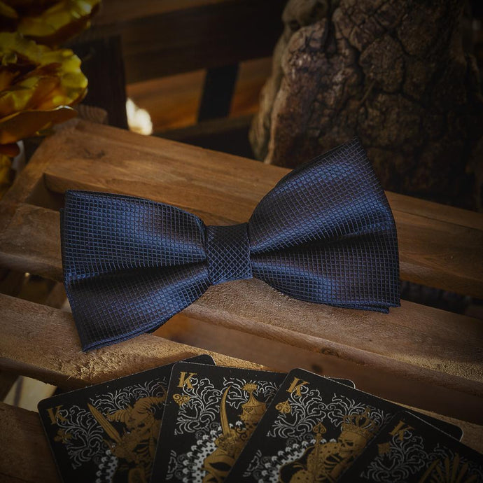 Fashion Accessories Black Men's Bow Tie Set - Suit Monkey UK