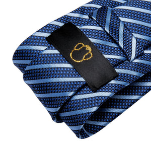 Fashion Accessories Blue on Blue Men's Necktie Set - Suit Monkey UK