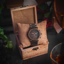 Load image into Gallery viewer, Bobo Bird Men's Chronograph Wood Watch Fashion Accessories Free Shipping!