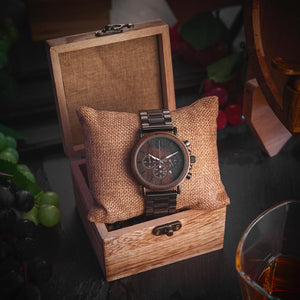 Bobo Bird Men's Chronograph Wood Watch Fashion Accessories Free Shipping!