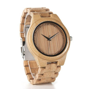 Fashion Accessories Bobo Bird Men's Ultimate Bamboo Wood Watch - Suit Monkey UK