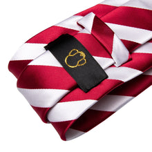 Load image into Gallery viewer, Fashion Accessories Candy Cane Men's Necktie Set - Suit Monkey UK