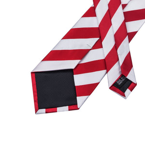 Fashion Accessories Candy Cane Men's Necktie Set - Suit Monkey UK