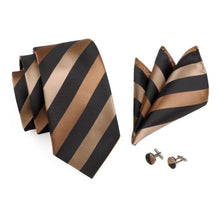 Load image into Gallery viewer, Fashion Accessories Earth Colours Men's Necktie Set - Suit Monkey UK