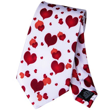 Load image into Gallery viewer, Fashion Accessories Happy Hearts Men's Necktie Set - Suit Monkey UK