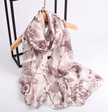 Load image into Gallery viewer, Old Rose Splatters Ladies' Scarf Fashion Accessories Suit Monkey UK