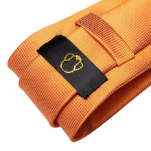 Load image into Gallery viewer, Orange Men's Necktie Set Fashion Accessories Hi-Tie Official Store