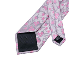 Load image into Gallery viewer, Pink Garden Men's Necktie Men's Ties & Handkerchiefs Free Shipping!