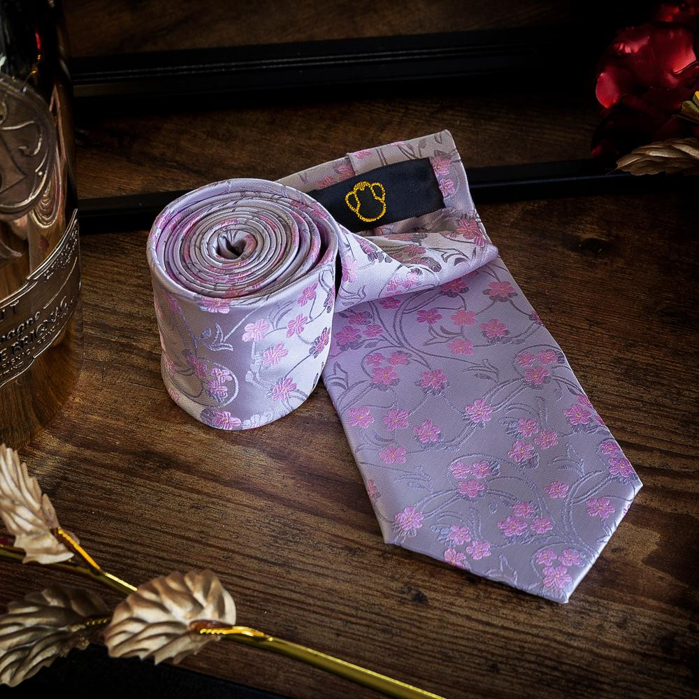 Pink Garden Men's Necktie Men's Ties & Handkerchiefs Free Shipping!