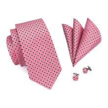 Load image into Gallery viewer, Pink Spot Men's Necktie Set Fashion Accessories Hi-Tie Official Store