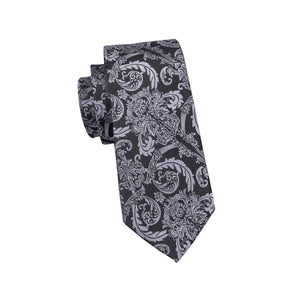 Regal Black Men's Necktie Set Fashion Accessories Hi-Tie Official Store