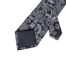 Load image into Gallery viewer, Fashion Accessories Regal Black Men's Necktie Set - Suit Monkey UK