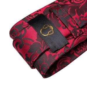 Fashion Accessories Regal Red Men's Necktie Set - Suit Monkey UK