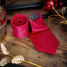Load image into Gallery viewer, Scarlet Red Men's Necktie Set Fashion Accessories Free Shipping!