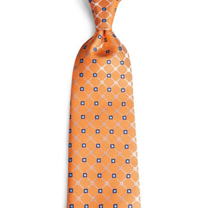 Smart Orange Men's Necktie Set Fashion Accessories DiBanGu VIP Store