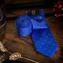 Load image into Gallery viewer, Starry Baby Blue Men's Necktie Set Fashion Accessories Free Shipping!