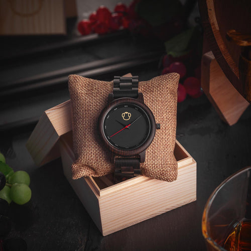 Suit Monkey Wooden Watch Quartz Watches Free Shipping!