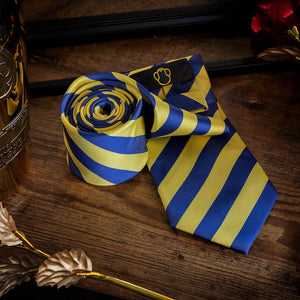 Swiss Guard Stripes Men's Necktie Set Fashion Accessories Free Shipping!