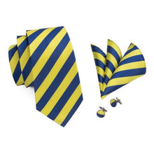 Load image into Gallery viewer, Swiss Guard Stripes Men's Necktie Set Fashion Accessories Hi-Tie Official Store