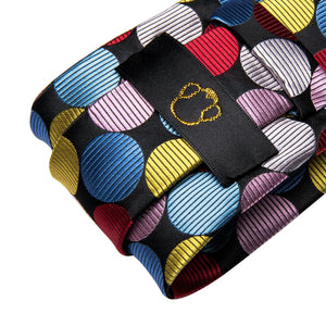 Technicolor Dots Men's Necktie Set Fashion Accessories Hi-Tie Official Store