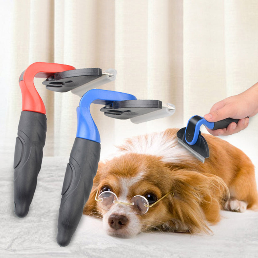Pet Curved Depilation Comb For Small And Medium Dog Hair Shaver Gog Hair Knife