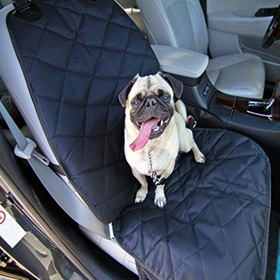 Dog Seat Cover, Pet Seat Covers Waterproof No Slip Thick Oxford Cloth Mat for Cars,  Black