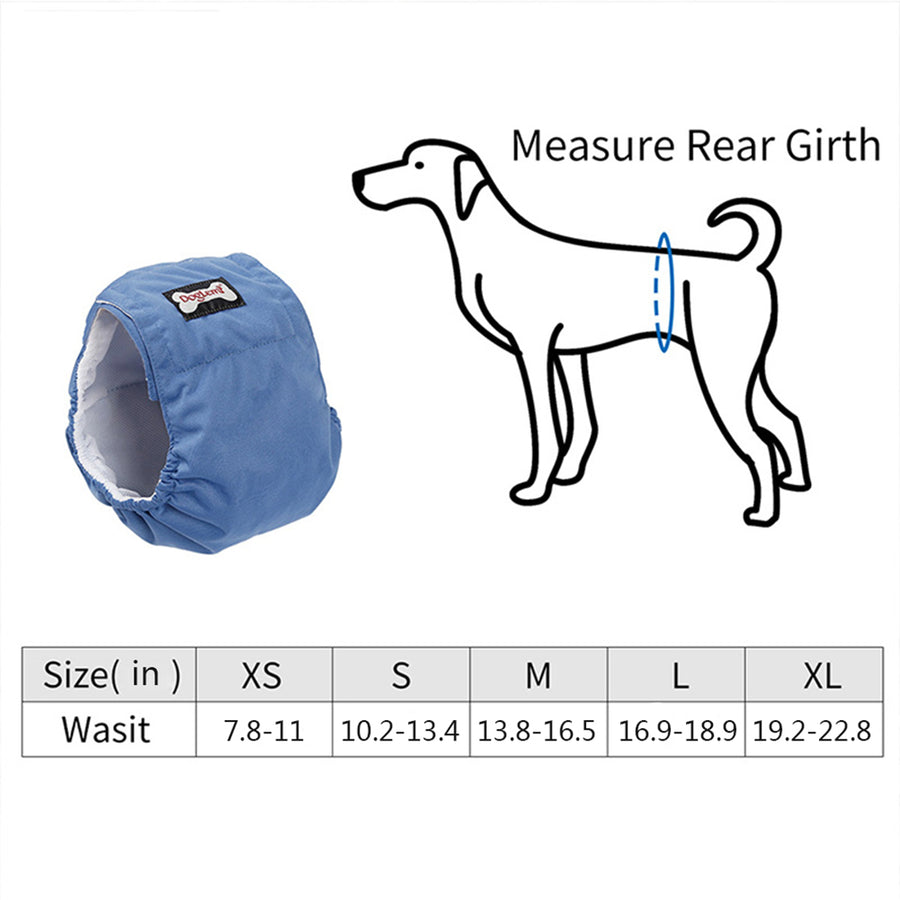 Belly Band for Male Dog